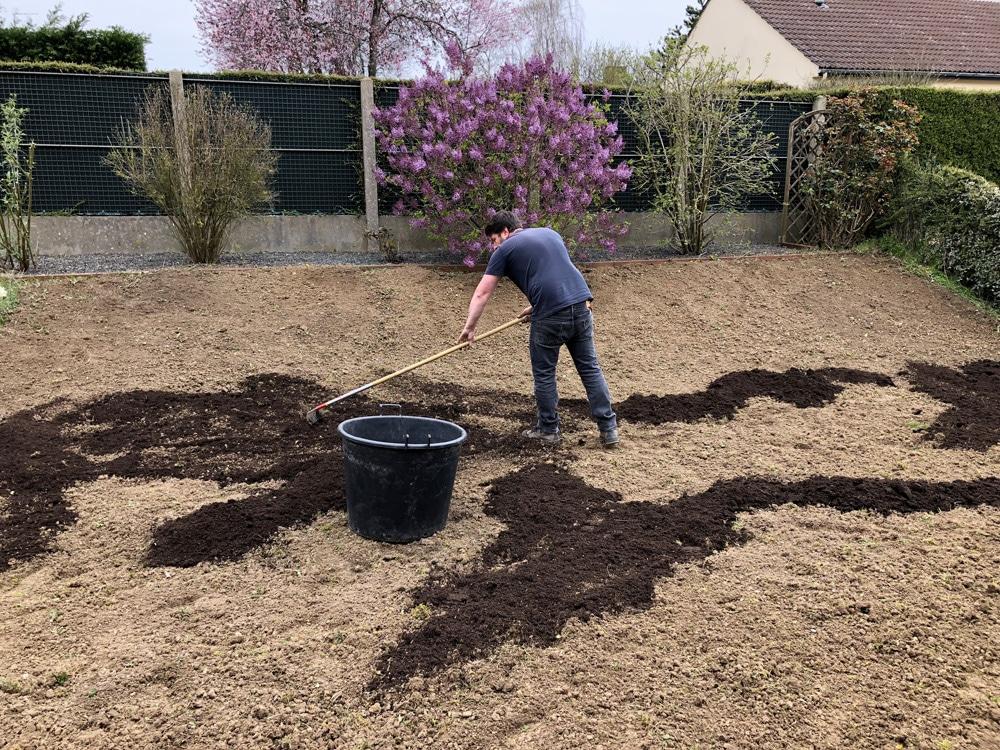 engazonnement - enrichir le sol