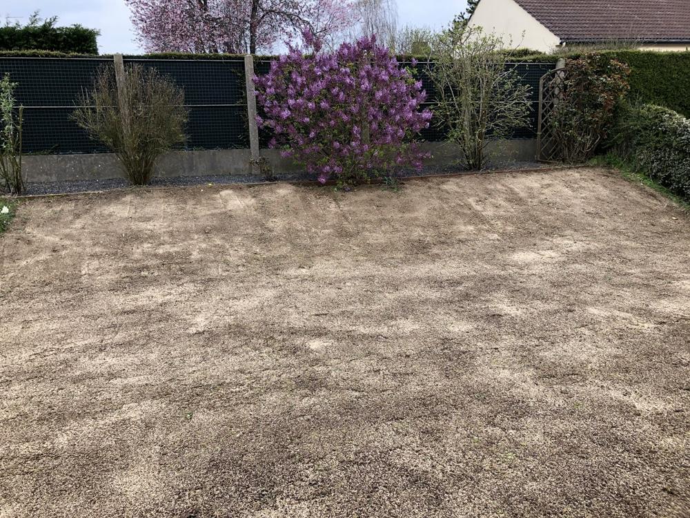 engazonnement - travailler le sol